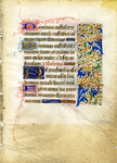 Medieval Manuscript Collection - Accession 1500