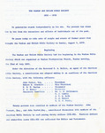 Waxhaw and Shiloh Bible Society History - Accession 349 - M139 (175)