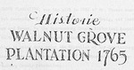 Walnut Grove Plantation History - Accession 418 - M164 (205)