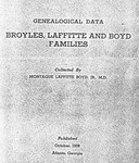 Broyles, Laffitte, and Boyd Family Papers - Accession 376 - M155 (196)