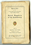 United Daughters of  the Confederacy , South Carolina Division Records - Accession 377