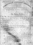 Yorkville Female College Diploma - Accession 384 - M158 (199)