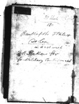 South Carolina Governor Francis Wilkinson Pickens Accounts - Accession 606