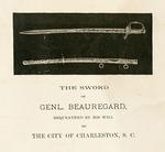 General P.G.T. Beauregard Pamphlet - Accession 624 - M268 (318)