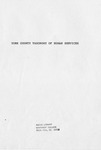 York County, S.C. Human Services Demonstration Project Report - Accession 660 - M291 (342)