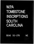 Works Progress Administration (WPA) Tombstone Inscriptions - Accession 488