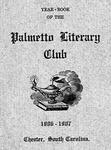 Palmetto Literary Society Records - Accession 495 - M206 (248)