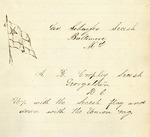 Arthur B. Cropley Diary - Accession 675 - M298 (349)