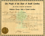 Lindsay Crawford McFadden Certificate of Commission - Accession 677 - M300 (351)