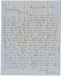 William Wilson Mills Letters - Accession 580