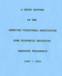American Vocational Association History - Accession 716 - M326 (377) by American Vocational Association and Helen A. Loftis