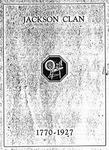 Jackson Clan Family Genealogy - Accession 746 - M345 (396)