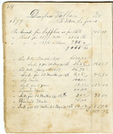 Sarah Jones Plantation Account Book - Accession 758 - M353 (404)
