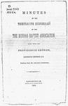 Moriah Baptist Association Records - Accession 584 - M250 (299)