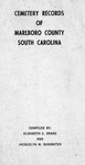 Marlboro County, South Carolina Cemetery Records- Accession 789 - M363 (414)