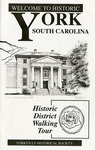 York, SC Historic District Walking Tour Booklet - Accession 906 - M414 (465)