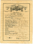 Robert Duvall Allen WWI Certificate - Accession 1007 - M444 (495)