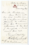 Robert C. Winthrop's Personal Letters - Accession 1010 - M476 (527)