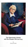 The Opportunity Schools and the Founder Wil Lou Gray - Accession 1022, M448 (499)