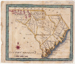 South Carolina Map - Accession 1210 - M576 (629)