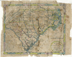 Map of North and South Carolina - Accession 1211 - M577 (630)
