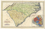 Map of the States of North and South Carolina 1784 - Accession 1216 - M581 (634)