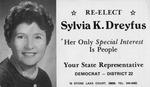 Sylvia K. Dreyfus Papers - Accession 1044 by Sylvia Kohn Dreyfus