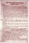 Treaties Between South Carolina And the Cherokee Indians - Accession 1224 - M587 (640)