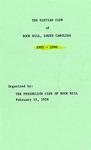 Eletian Club Records - Accession 1047 - M471 (522)