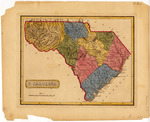 State of South Carolina Map 1816- Accession 1241 - M593 (646)