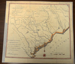 Map of the Carolinas 1787- Accession 1242 - M594 (647)