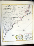 Map of the Carolinas 1691 - Accession 1245 - M597 (650)