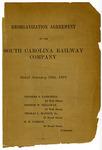 Reorganization Agreement Of The South Carolina Railway Company - Accession 1262 - M614 (667)