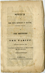 Speech Of The Honorable Robert Y. Hayne (Of South Carolina) On the Reduction Of The Tariff - Accession 1267 - M619 (672)