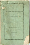 Proceedings of A Convention Of Teachers - Accession 1288 - M632 (686)