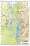 Map of the Catawba River at Great Falls, South Carolina - Accession 1087 - M497 (548) by Catawba River and Great Falls, South Carolina