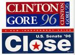 Political Bumper Stickers - Accession 1334 - M668 (722)