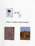 Withers/Weathers Family History Collection - Accession 1338 - M671 (725)