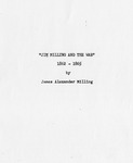 James Alexander Milling Civil War Reminiscence - Accession 877 - M395 (446)