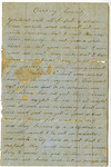 Civil War Letter - Accession 558 - M244 (292)