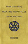 Rock Hill Rotary Club Records - Accession 899