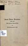 Joseph Edward Brockinton - Accession 715 #1