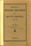 Moore Records of South Carolina - Accession 715 #8