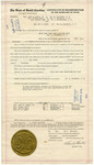Fair Lawn Home Demonstration Club Certificate of Incorporation - Accession 1409 - M695 (751)