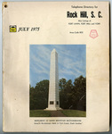 Rock Hill Telephone Directories - Accession 1450 - M740 (797)