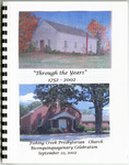 Fishing Creek Presbyterian Church History - Accession 1086 - M496 (547)