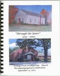 Fishing Creek Presbyterian Church History - Accession 1086 - M496 (547) by Fishing Creek Presbyterian Church