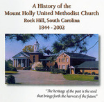 Mount Holly United Methodist Church History - Accession 1124 M515 (566)