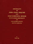 Descendants of John Craig, Esquire and John Robinson, Senior - Accession 715 #32