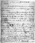Andrew Pickens Papers - Accession 1148